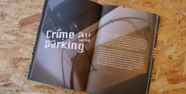 escape game livre - parking