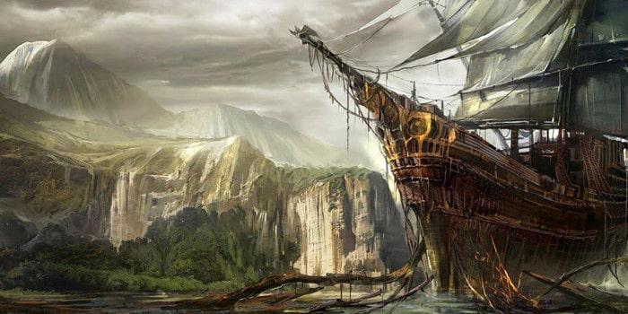 Course contre la montre - bateau fantome