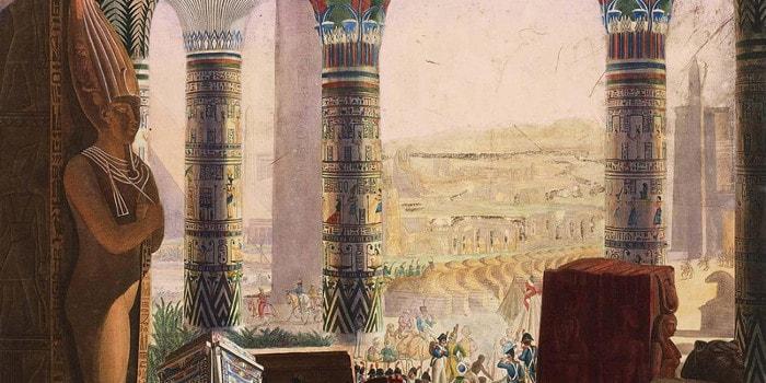 Course contre la montre - retour d'egypte