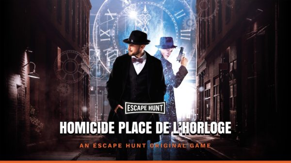 Escape Hunt Belfort | Homicide Place de l'Horloge