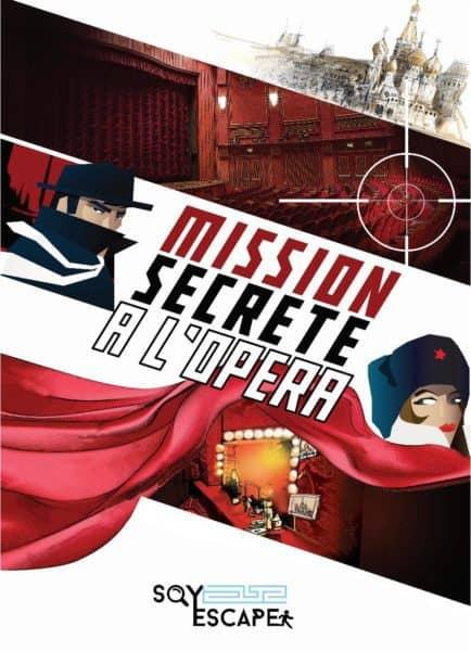 SQY - Mission secrete à l opera