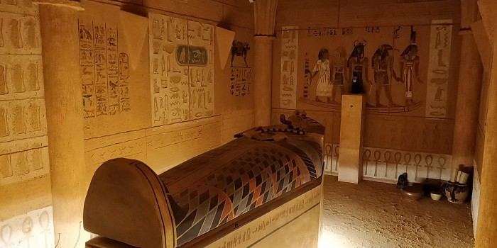 Les secrets du sablier - La Pyramide de Kheops