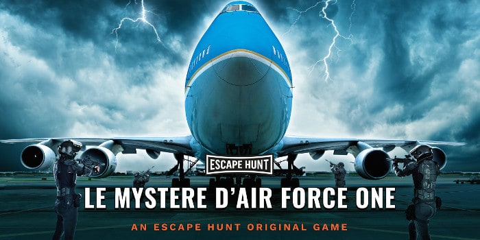 Escape Hunt - air force one