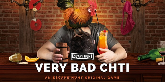 Escape Hunt - very bad cht'i