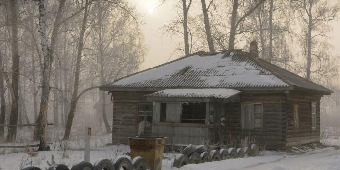 Hidden Face - cabane abandonnée