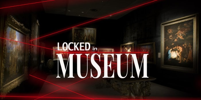 Locks Game'heure - locked in museum