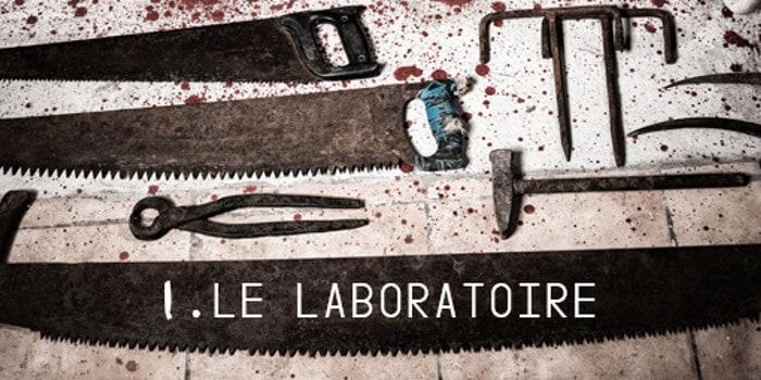 Terreur au bignon - le laboratoire